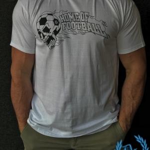 Hooligan T-shirt 'Home Of Football White'