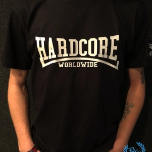 Hardcore T-shirt 'Hardcore Worldwide'