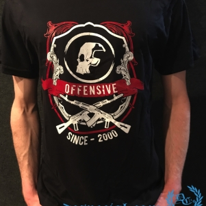 Paul Elstak T-shirt 'Offensive Hardcore'
