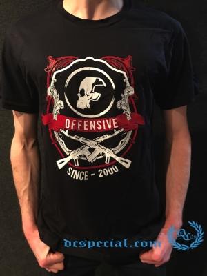 Paul Elstak T-shirt 'Offensive Hardcore'
