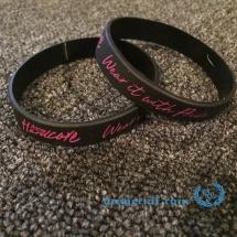 100% Hardcore Wristband 'Wear It With Pride'