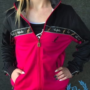 Australian Ladies Training Jacket 'Pink/Black'