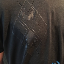Cavello Soccer T-shirt 'Black Squares'