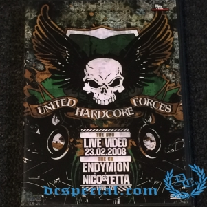 Traxtorm Records DVD 'United Hardcore Forces 2008 - Mixed By Endymion & Nico & Tetta'