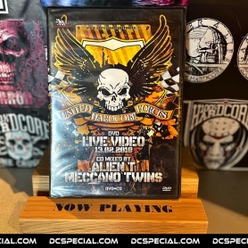 Traxtorm Records DVD 'United Hardcore Forces 2010 - Mixed By Alien T & Meccano Twins'