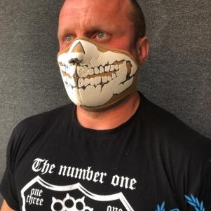 Masker Half Face 3D 'Neopreen Beige'