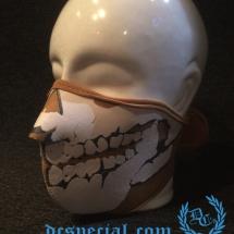 3D Masker 'Neopreen Beige'
