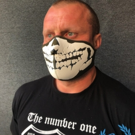 Masker Half Face 3D 'Neopreen Khaki'
