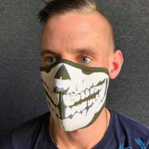 3D Masker 'Neopreen Khaki'