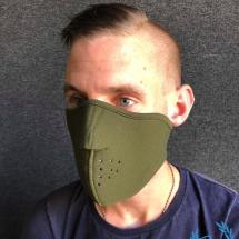 3D Mask 'Neopreen Khaki'