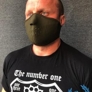 Masque Half Face 3D 'Neopreen Khaki'