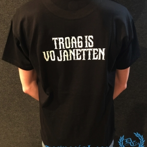 Coretrik T-shirt 'Traog Is Vo Janetten'