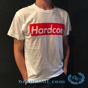 Hardcore Supreme T-shirt 'Supreme White'