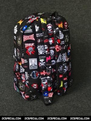 Hardcore Backpack 'Records Logos'
