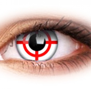 Eye Lenses 'Red Target'