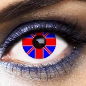 Eye Lenses 'Union Jack'