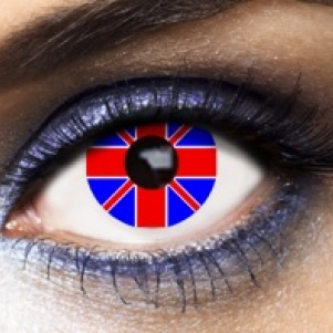 Eye Lenses 'Union Jack'