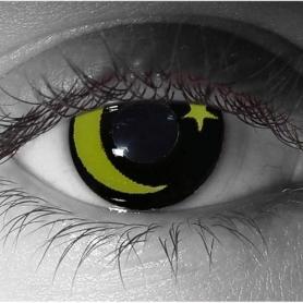 Eye Lenses 'Moon & Star'