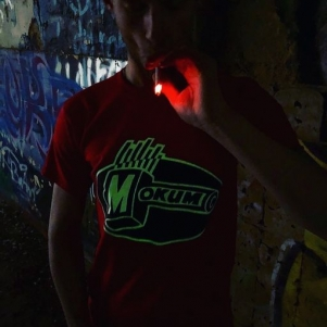 Mokum Records T-shirt 'Mokum Red'
