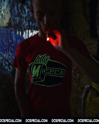 Mokum Records T-shirt 'Mokum Red'