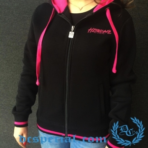 100% Hardcore Dames Hooded Sweater 'Gabberinna 4 Life'