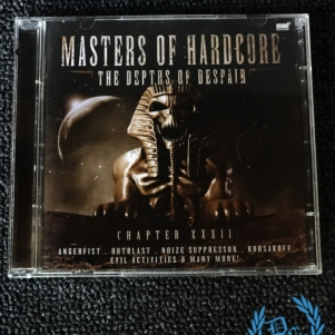 Masters Of Hardcore 2011 CD 'The Depths Of Despair - Chapter XXXII'