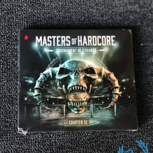 Masters Of Hardcore 2018 CD 'Chapter XL - Tournament Of Tyrants'