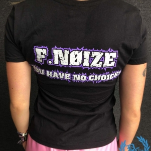 F.Noize Dames T-shirt 'You Have No Choise Purple'