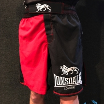 Lonsdale Boxing Short 'Red/Black'