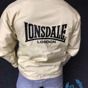 Lonsdale Raincoat 'Basic Beige'