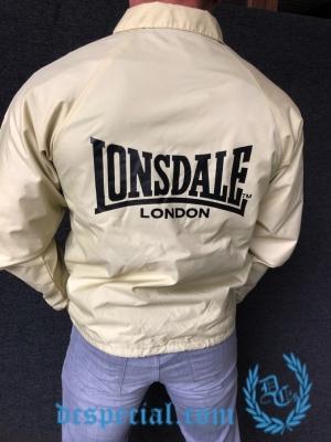 Lonsdale Regenjas 'Basic Beige'