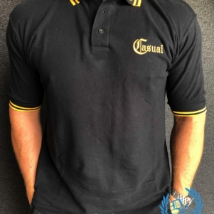 Casual Polo 'Golden Lion'