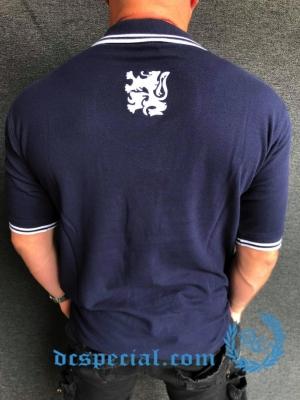 Casual Polo 'Navy/Silver Lion'