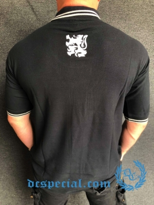 Casual Polo 'Black/Grey Lion'