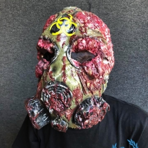 Mask 'Melted Biohazard'