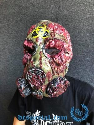 Masker 'Melted Biohazard'