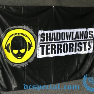Shadowland Terrorists Vlag 'Terrorists Of The Shadowlands'