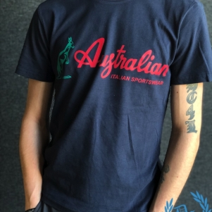 Australian T-shirt 'Navy Blue'