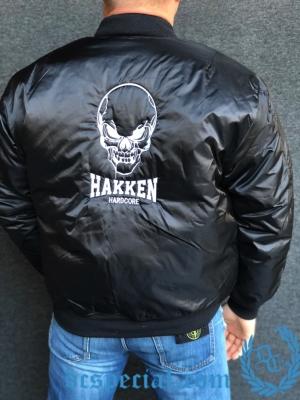 Hakken Bomber Jas 'Hakken Skull'