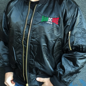 Hakken Bomber Jas 'Hardcore Italia'