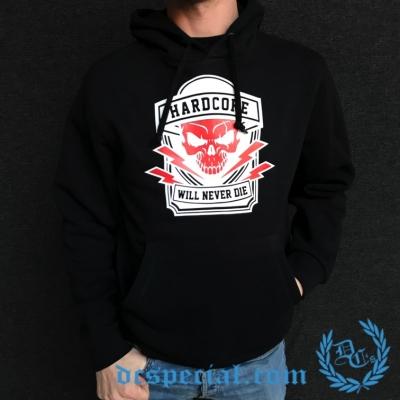 Hakken Hooded Sweater 'Will Never Die'