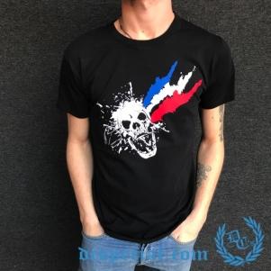 Hakken T-shirt 'The French Headshot'