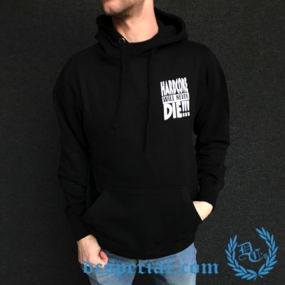 Hakken Hooded Sweater 'Hardcore Will Never Die!!!'