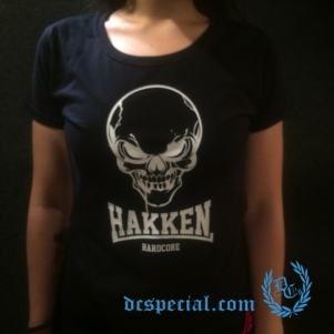 Hakken Dames T-shirt 'Classic Skull'