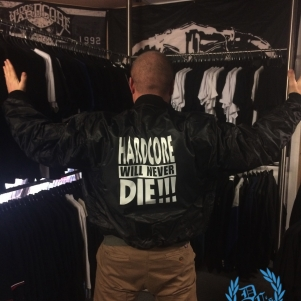 Hardcore Bomber Jacket 'Hardcore Will Never Die!!!'