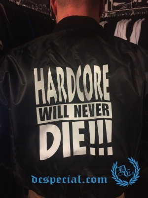Hardcore Bomber Jas 'Hardcore Will Never Die!!!'