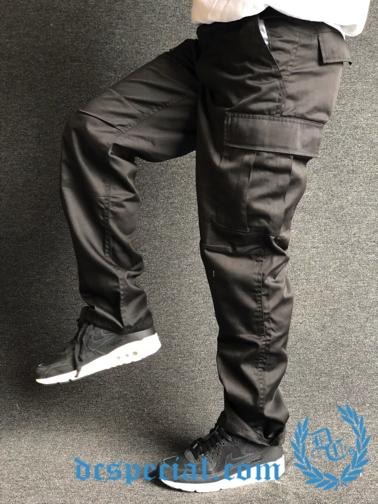 Army Pants 'BDU Camou Black'