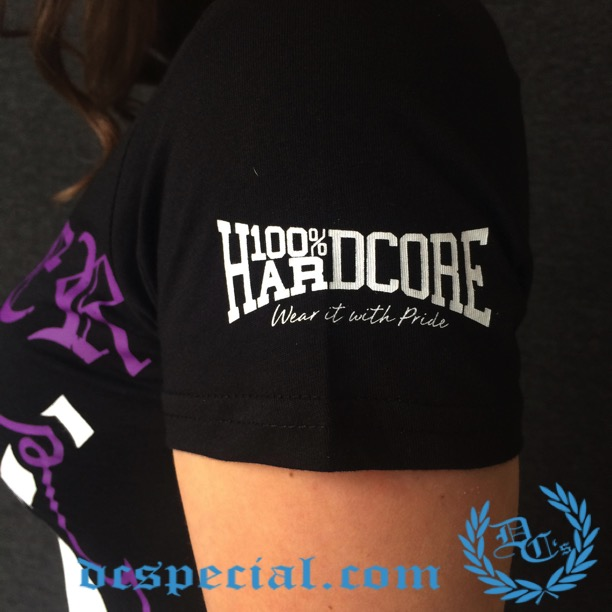 100% Hardcore Ladies T-shirt '4 Life'