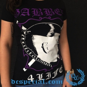 100% Hardcore Dames T-shirt '4 Life'