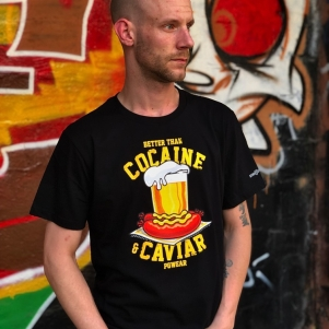 PGwear T-shirt 'Cocaine & Caviar'